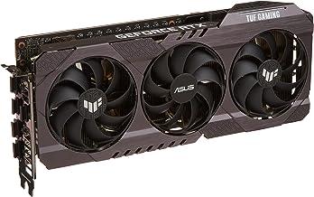 ASUS TUF Gaming NVIDIA GeForce RTX 3060 V2 OC Edition Graphics Card (PCIe 4.0, 12GB GDDR6, HDMI 2.1, DisplayPort 1.4a, Dua...