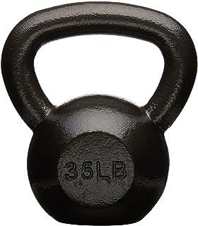 AmazonBasics Cast Iron Kettlebell Weight