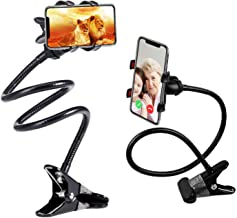 SLBSTORES® Cell Phone Holder, Gooseneck,Universal Cell Phone Clip Holder Lazy Bracket Flexible Long Arms for iPhone 6 6s Plus 5s SE, Samsung Galaxy S7 S6 Edge S5 S4 Note5 Note4,GPS Devices