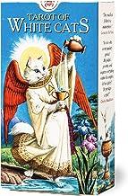 タロットカード 78枚 ウェイト版 タロット占い 【 ホワイトキャッツ・タロット Tarot Of White Cats 】日本語解説書付き [正規品]