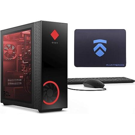 2021 Latest ELUK OMEN 30L NVIDIA RTX 3090 Gaming Desktop PC (RGB Liquid Cooled Intel i9-10850K, Z490 Mobo, 750 Watt Platinum PSU, Windows 10 Pro, 1TB NVMe SSD + 2TB HDD, 32GB HyperX RGB RAM)