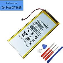 for Motorola G4 Plus XT1625 XT1643 XT1644 Replacement Battery 2810mAh 3.8V GA40 New Internal Battery SNN5970A with Tools