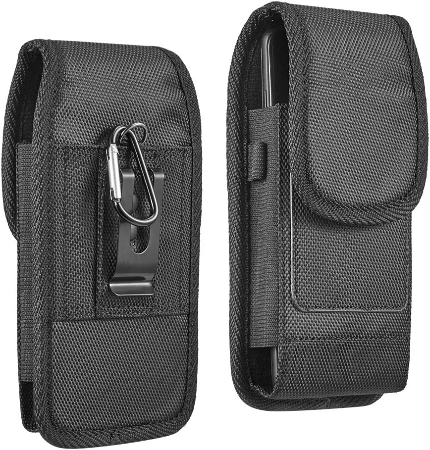 Nylon Cell Phone Holster for iPhone 12 12 Pro Max 11 11 Pro Xs Max Xr 6 7 8