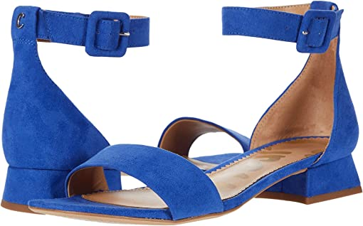 Bold Blue Microsuede
