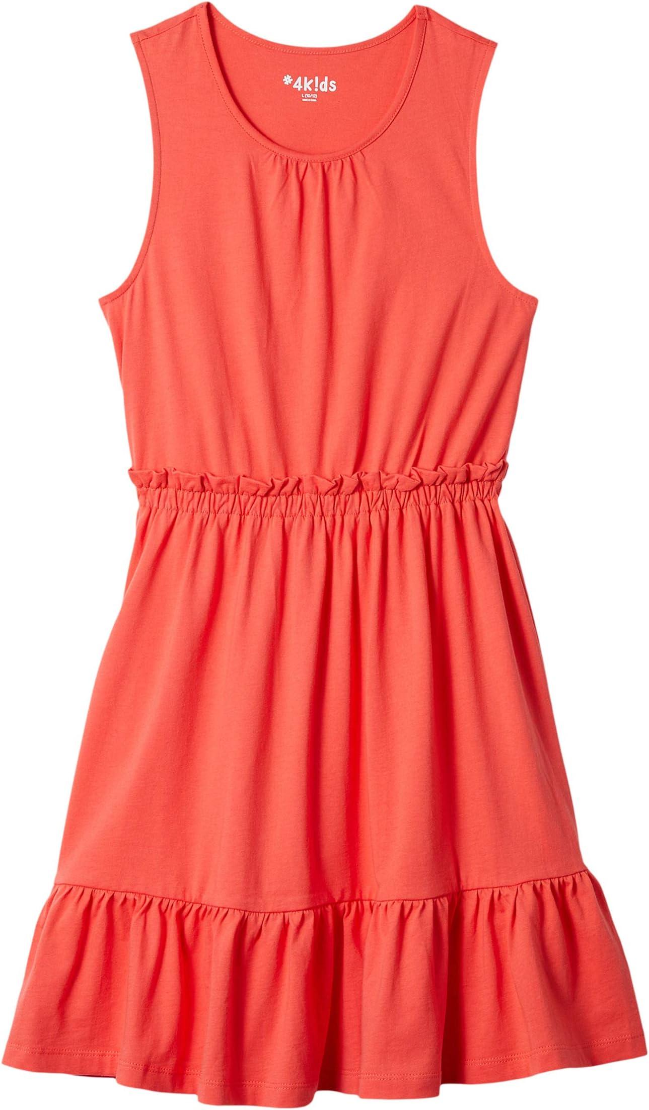 #4k!ds™ Essential Tiered Dress