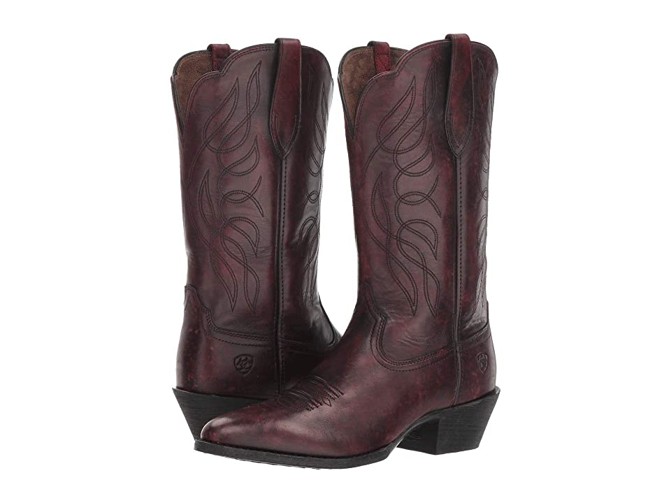 Ariat Heritage Western R Toe (Ombre Red) Women