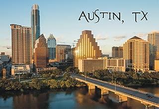 Austin, Texas, City, Skyline, Capitol, TX, Souvenir Magnet 2 x 3 Fridge Magnet