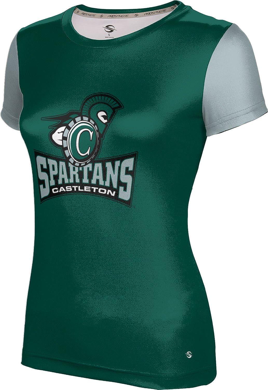 ProSphere Castleton University Girls' Performance T-Shirt (Crisscross)