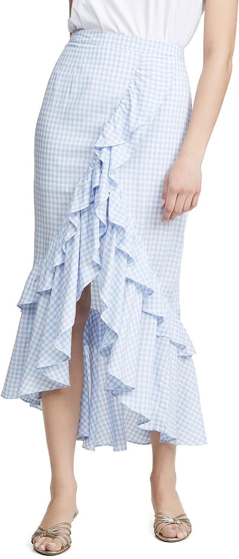 BB DAKOTA Women's Go Gingham Tiger Yarn Dyed Skirt