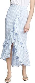 Women's Go Gingham Tiger Yarn Dyed Skirt