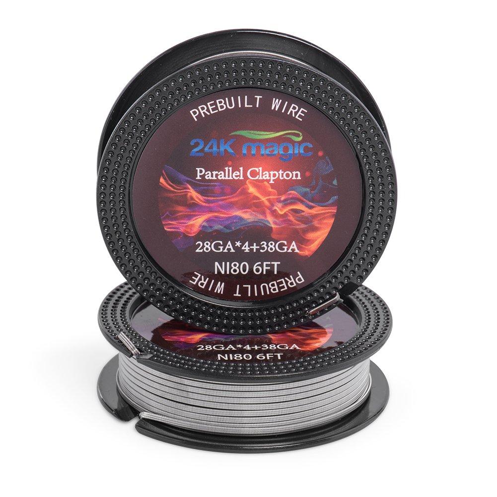Parallel Clapton Nichrome Electronic Resistance
