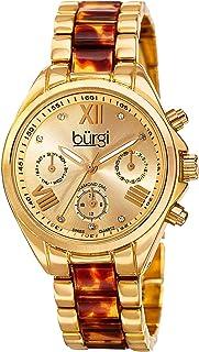 Burgi Casual Watch Analog Display Quartz for Women BUR130YG