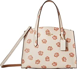 Charlie 28 Carryall in Floral Printed Leather