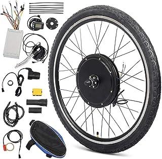 6cc9c42fba7 Okakopa E-Bike Motor Kit 26'' Front Wheel/Rear Wheel