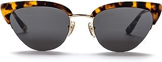 Sunday Somewhere Women's Pixie Wrap Sunglasses, Marble, 56 mm