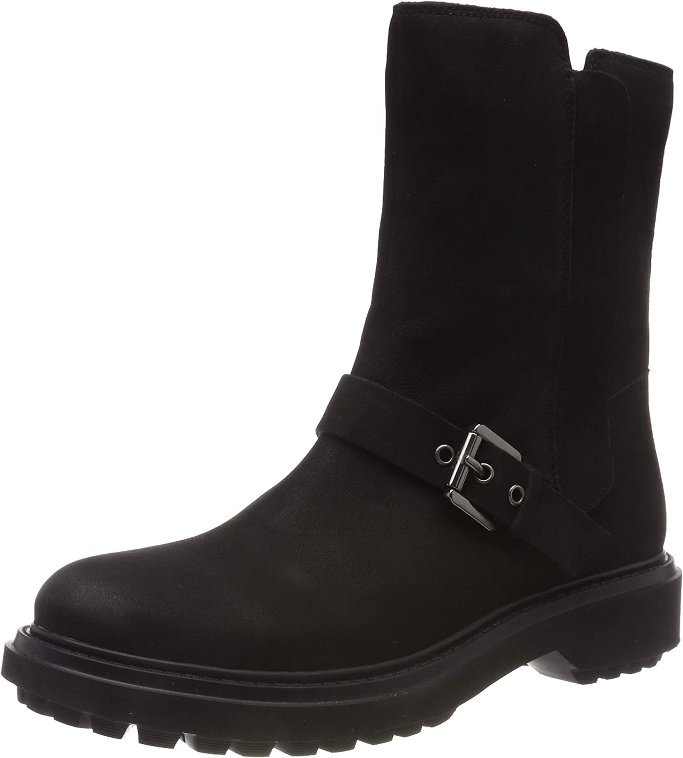 Geox Girl's D Our shop OFFers the Shipping included best service Biker Asheely Boots