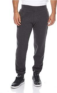 Rib Cuff Pants For Men, Grey, L