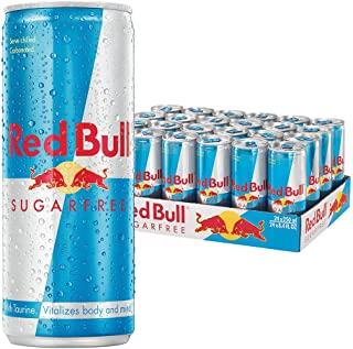 Red Bull Energy Drink Sugar Free 24x250ml Cans