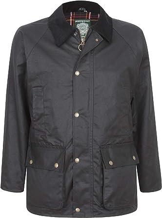 Portmann Belmont Mens Wax Jacket