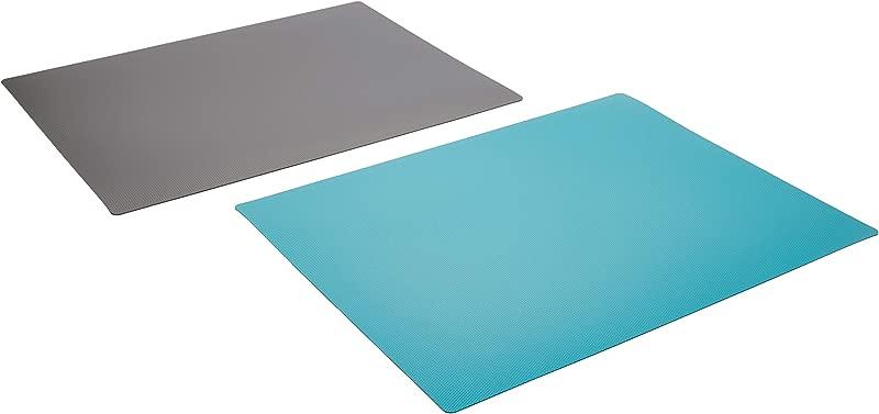 IKEA Finfordela FINF RDELA Set Of 2 IKEA Flexible Chopping Cutting Boards Grey Teal Finfordela 303 358 98 11 X 14 1 4 X 0 1 Mm Blue Gray
