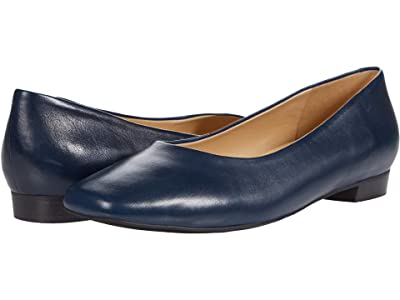 Trotters Honor (Navy Leather) Women
