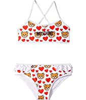 Moschino Kids - Heart Bikini (Little Kids/Big Kids)