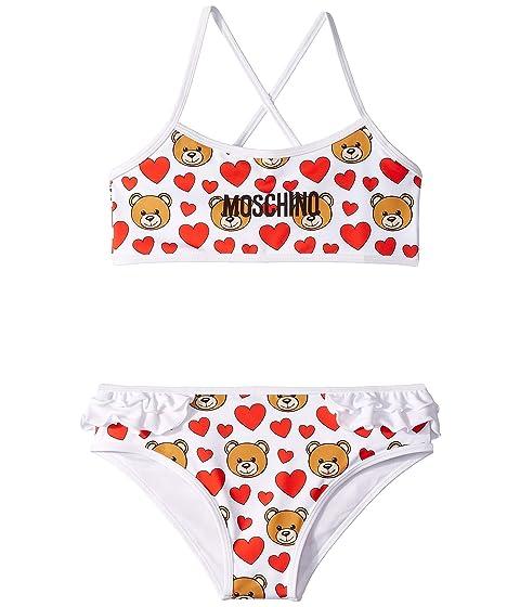 Moschino Kids Heart Bikini (Little Kids/Big Kids)