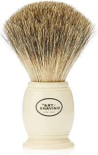 The Art of Shaving Men's Pure Badger Shaving Brush, Ivory