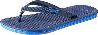 Nike Men's Solarsoft Thong 2 Flip Flops, Midnight Navy/Racer Blue, 6 US