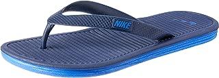 Nike Australia Men's Solarsoft Thong 2 Flip Flops, Midnight Navy/Racer Blue, 6 US