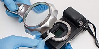 AAWipes Sensor Cleaning Kit (20 Pack of 24 mm Swabs for Full Frame APS-C Sensor + Anti Static Sensor Gel Stick + Camera Cloths Microfiber)