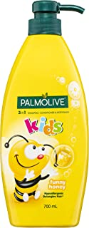Palmolive 3in1 Hypoallergenic Shampoo, Conditioner & Bodywash Kids Funny Honey 700mL