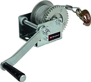 Einhell Treuil manuel TC-WI500 (capacité de charge maximale de 500kg, câble métallique lisse d'une longueur de 10mètre...