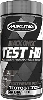 MuscleTech Test HD Elite, Test Booster for Men, Boosts Free Testosterone in 7 Days to Support Musclebuilding, Supports Nit...