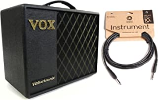 VOX VT20X 20W Guitar Modeling Amplifer w/ 10' Classic Series Instrument Cable