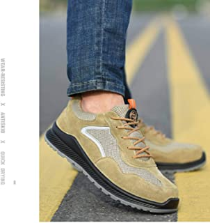 N-B Zapatos de seguro laboral para electricistas masculinos