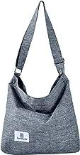 Shoulder Bag, Fanspack Women's Shoulder Crossbody Bag Canvas Hobo Handbag A4 Top Handle Bag