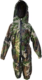 Dry Kids - Waterproof Rainsuit 2 Yrs Camo Green