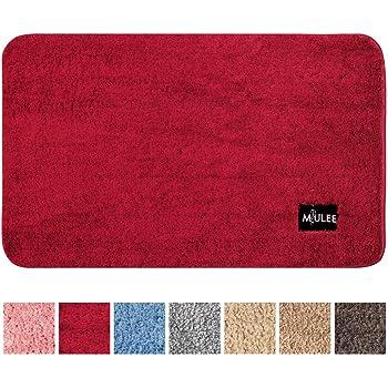 50 x 80 cm Rosso CC CAIHONG Tappetino da Bagno Originale per Bagno in ciniglia Originale tappetini da Bagno Facili da Pulire soffice Tappeto Doccia in Microfibra