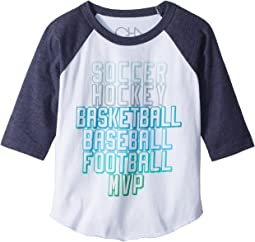 Chaser Kids - Vintage Jersey Sports MVP Tee (Toddler/Little Kids)
