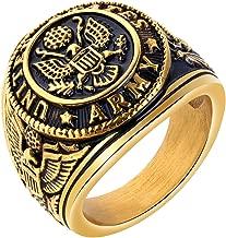 mens military rings
