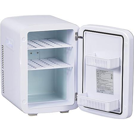 オーム電機 保冷保温ボックス 13L 小型冷蔵庫 車載両用 1ドア 右開き ポータブル電子式 ミニ 冷温庫 保温 保冷 ホワイト 08-1109 KAJ-R135R-W