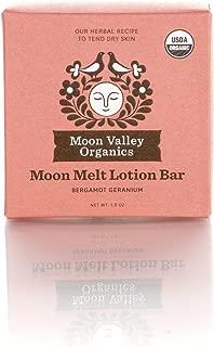 Moon Melt Lotion Bar-Bergamot Geranium