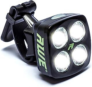 AWE/® X-FireTM USB 2.0 40 l/úmenes Recarga AweBrightTMx2 LEDs Frente Bicicleta Luces Blanco CE aprobado