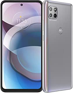 Motorola One 5G Ace | 2021 | 2-Day Battery | Unlocked | Made for US by Motorola | 6/128GB | 48MP Camera | Hazy Silver