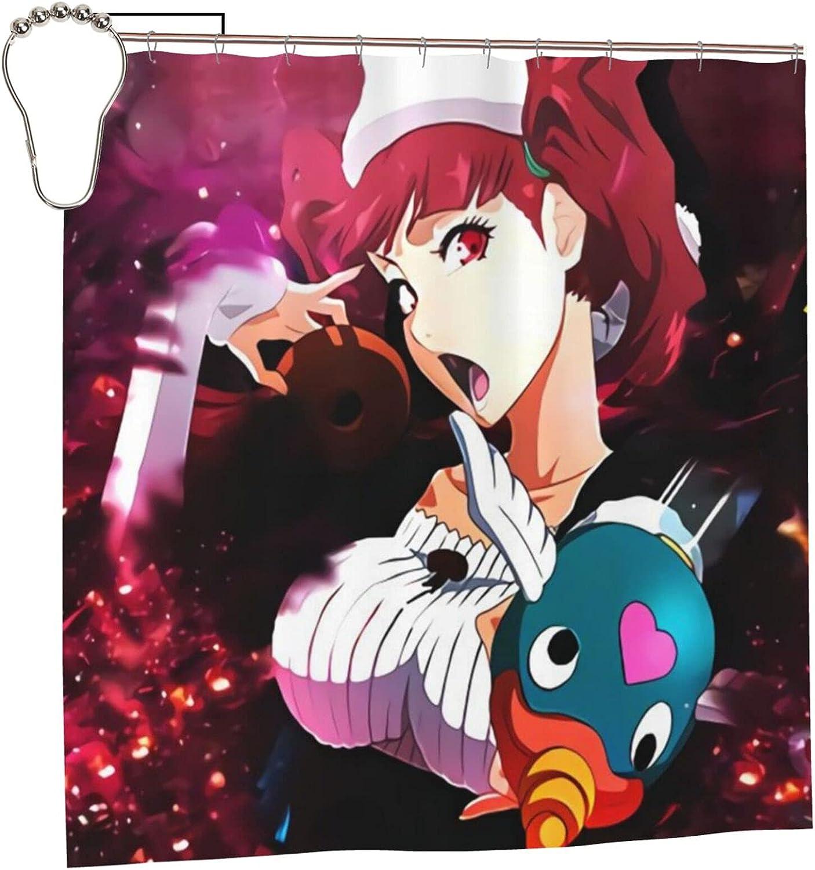 Bleach Dokugamine Riruka Superior Anime Bathroom Excellence 72 Shower Curtain Liner