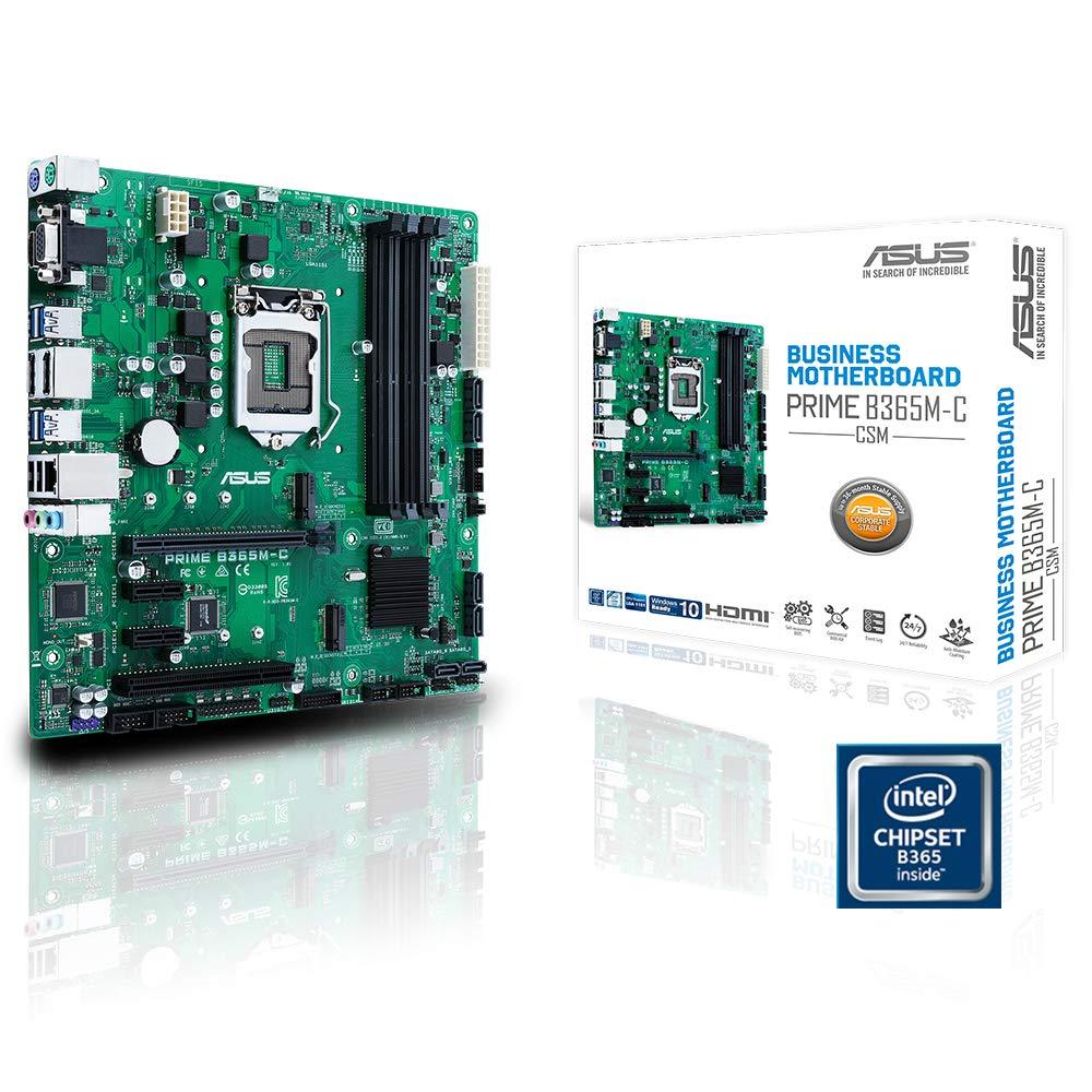 Amazon In Buy Asus Prime B365m C Csm 4 Ram Slot 8 Usb 3 1 2 Display Port 2 M 2 Socket Online At Low Prices In India Asus Reviews Ratings