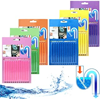 72sticks Sani Sticks Palillos para desagüe,Cleaning Sticks, limpiador de desagües,mantiene las tuberías de desagüe limpias y libres de atascamientos.