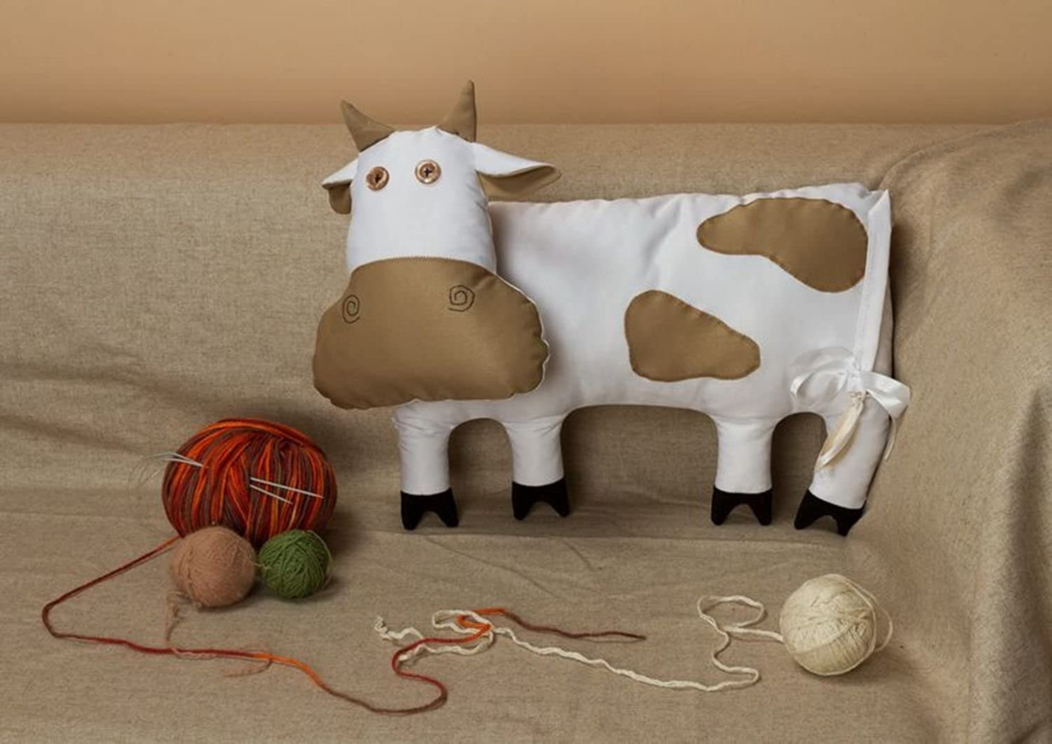 Pillow Toy  Cow