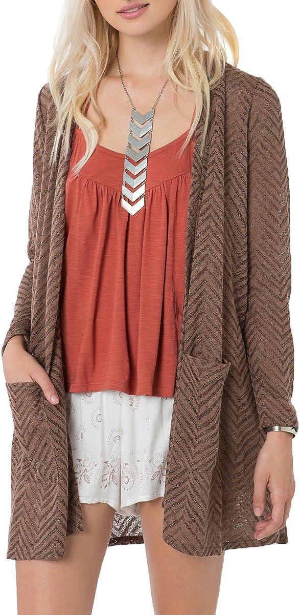 O'Neill Juniors Hampton Knit Cardigan Sweater